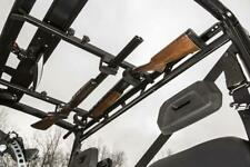 UTV Side by Side Overhead Gun Rack Holder Double Carrier Hunting Shotgun Rifle