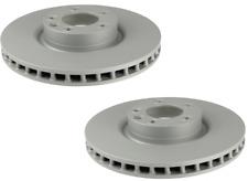 For Porsche Cayenne 2008 Set of 2 Front Brake Disc Rotors Genuine 955 351 403 00