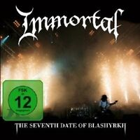 "IMMORTAL ""THE SEVENTH DATE OF BLASHYRKH"" CD+DVD NEW+"