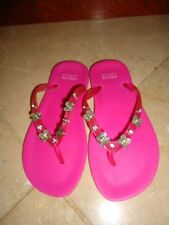 NEW  Stuart  Weitzman  girls pink flip-flop sandals shoes