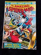 The Amazing Spider-Man #125 Origin of Man-Wolf 2nd App Key (Item 382)
