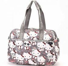 Hello Kitty Lesportsac 45th Anniv 2Way Sac Voyage Harper Sac Gris de Japon Ems