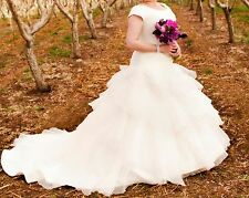 Gently used perfect condition modest wedding dress