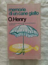 Memorie di un cane giallo - O. Henry - I Garzanti 1962