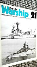 PROFILE WARSHIP #21: USS TENNESSEE (BB 43): BATTLESHIP 1920-1959 (1972)