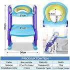 Toilettentrainer mit Treppe Kinder Toilettensitz WC Baby Lerntöpfchen Leiter DE