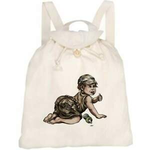 'Thumbs Up Toddler' Canvas Rucksack / Backpack (RK00014675)