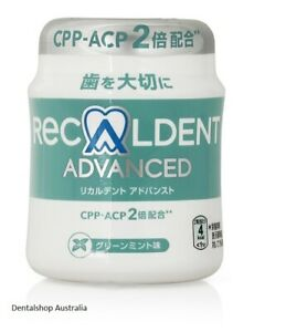 Recaldent Advanced Chewing Gum  mouth freshener sensitive teeth dry mouth