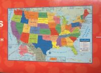 """Large USA United States Map Poster Size Wall Decoration 40"""" x 28"""""""