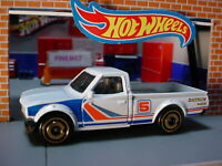 2019 HW HOT TRUCKS Design DATSUN 620 ☆white truck; orange ☆LOOSE Hot Wheels