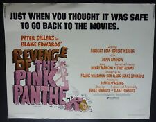 REVENGE OF THE PINK PANTHER 1978 HALF SHEET POSTER PETER SELLERS BLAKE EDWARDS