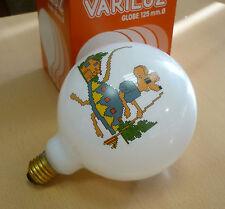 VARILUZ Globelampe E27 G125 60W opal mit KINDERMOTIV Globe Glühlampe 125mm