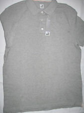 "NWT Men's M JCP Combed Cotton ""Lt Grey Heather"" Polo Shirt"