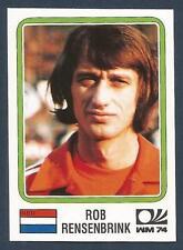 PANINI WORLD CUP STORY #090-MUNICH 74-NEDERLAND-HOLLAND-ROB RENSENBRINK