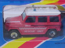1983 MATCHBOX MB-30 MERCEDES BENZ 280 G RESCUE UNIT MIB