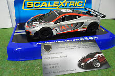 Voiture SLOT McLaren MP4-12C GT3 #1 au 1/32 SCALEXTRIC C3382 miniature circuit