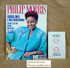 """James Arness Marshal Dillon Gunsmoke """"Phillip Morris Magazine"""" Fall 1988"""