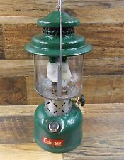 VINTAGE COLEMAN 220E DOUBLE MANTLE LANTERN DATED 10/60 SUNSHINE OF THE NIGHT