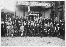 PHOTO GF A LOCALISER BANQUET COLONIAUX MARINS CHECHIA BUFFET RESTAURANT 1934