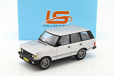 LS COLLECTIBLES - LS001B RANGE ROVER SERIES 1 SILVER 1:18 SCALE PRECISION RESIN