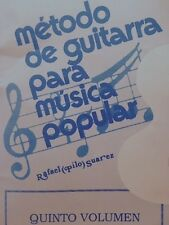 Método para Guitarra Popular Vol 5 Pilo Suarez