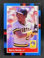 1988 Donruss Barry Bonds #326 - Pittsburgh Pirates - NM-MT