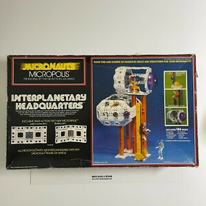 MEGO Micronauts Micropolis Interplanetary Headquarters MIB New Unused Contents