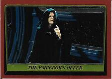 1999 Topps Star Wars Chrome Archives #85 The Emperors Offer > Palpatine
