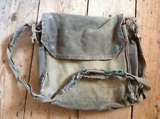 More details for wwii british army mkvii respirator gas mask bag 1942 dated
