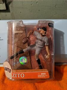 MCFARLANE MLB SERIES 20 BARRY ZITO GREY ROOKIE VARIANT NICE!