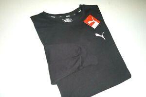Puma mens classic Logo designer long sleeve crew neck cotton knit t-shirt -XXL