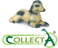 Figurine Chien Afghan Hound Animaux Domestique Animal Chiot Jouet Collecta 88174
