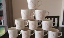 set of 10 Corning County Prominade cups mugs ~ Duck ~ estate find