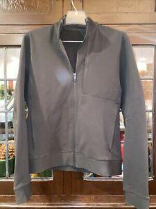 lululemon mens sojourn jacket dark olive medium