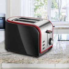 Design Brötchen Toaster Stufenlos Sandwich Krümelschublade Haushalt 2-Scheiben