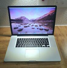 Apple Macbook Pro A1297 17inch widescreen 16GB RAM 250GB SSD.
