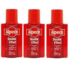 Alpecin Double Effect Caffeine Shampoo Anit Dandruff 200ml Triple Pack