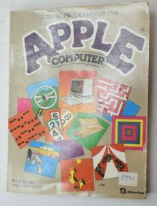 Vintage 32 Thirty-Two Basic Programs For The Apple Computer Rugg Feldman 1981