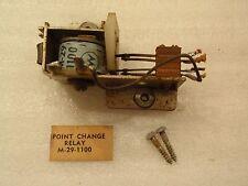 Williams Em Electro Mechanical 70'S Pinball Machine Back Box Point Change Relay!