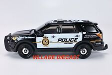 2020 Matchbox Thank You Heroes 2016 Ford Interceptor Utility BLACK /POLICE /MINT