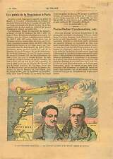 Raid Paris-Dakar lieutenant Arrachard & Lemaitre Bréguet 19GR 1925 ILLUSTRATION