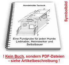 Hundehütte Hundehaus Tierhütte selbst bauen - Hunde Hütte Technik Patente