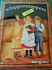 WHIPPERSNAPPERS V1 BY HELAN BARRICK 1986 OILS TOLE PAINTING BOOK