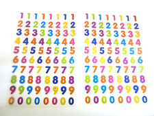 Coloured Numbers Stickers, Kids Labels for Craft, Decoration, Card-Making LS47