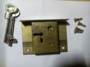 drawer or cabinet lock, 63 mm, Made in Sydney, 4-lever (BH4)