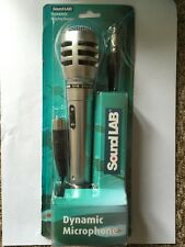 More details for vocal high quality silver dynamic karaoke microphone switch xlr -1/4