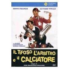 Dvd IL TIFOSO L'ARBITRO E IL CALCIATORE - (1982)  ......NUOVO