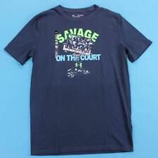 Youth UNDER ARMOUR T Shirt Size XL Boys Basketball Savage Logo Tee NWT