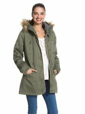 ROXY IGLO WOMENS PARKA LONG WINTER COAT JACKET