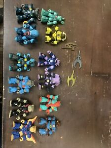 Vintage Hasbro Takara Battle Beasts Action Figures Lot of 12